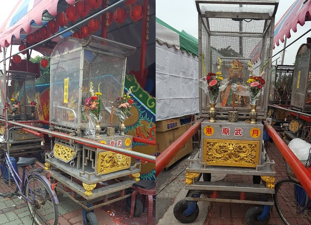 台湾の神輿
